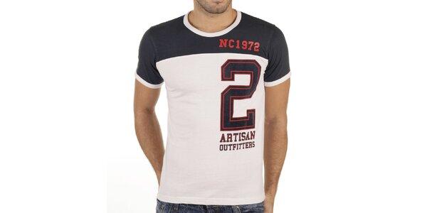 Pánské tričko s velkou číslicí New Caro