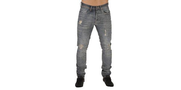 Pánské džíny s trhaným efektem New Caro