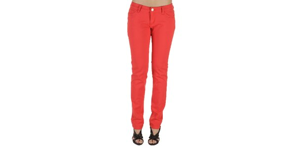 Dámské červené kalhoty New Caro