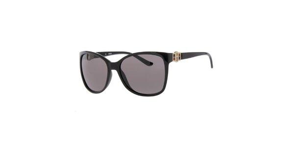 Dámské sluneční brýle v černé barvě Guess