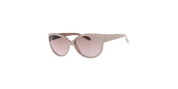 Dámské sluneční brýle s růžovými skly Guess