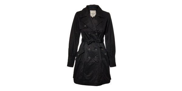 Elegantní dámský trenčkot značky Timeout v černé barvě