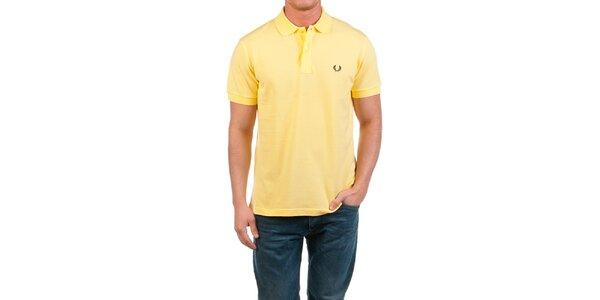 Pánské žluté polo triko Fred Perry