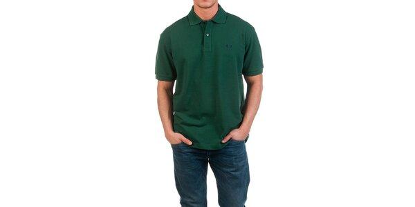 Pánské tmavě zelené polo triko Fred Perry