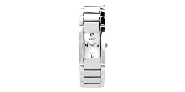 Dámské náramkové hodinky Ma´dor s bílým ciferníkem