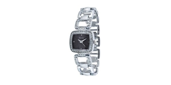 Dámské hodinky s černým ciferníkem Ma´dor