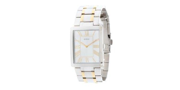 Pánské elegantní ocelové hodinky Guess