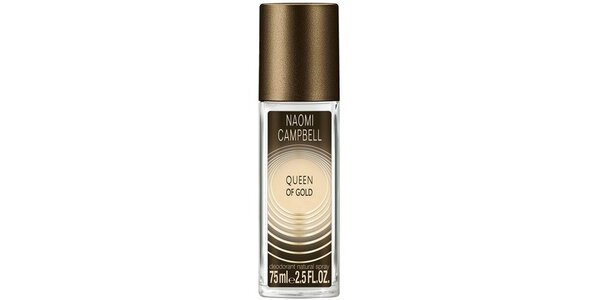 NAOMI CAMPBELL QUEEN OF GOLD deo natural sprej 75ml