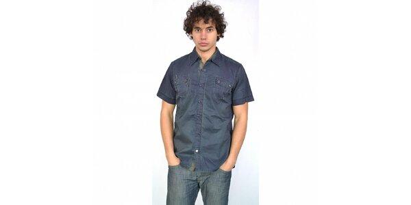 Pánská tmavě modrá košile Energie