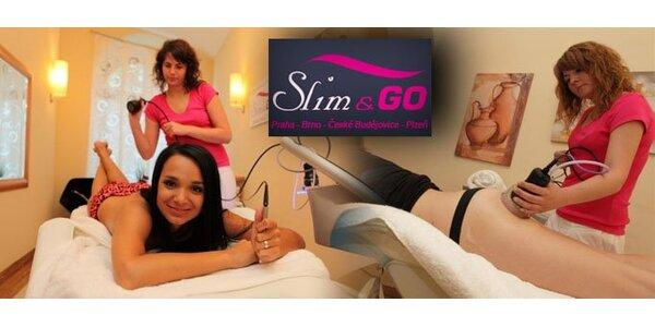 799 Kč za trojkombinaci zeštíhlujících procedur studia Slim & Go. Sleva 77%