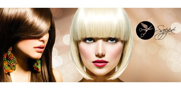Střih, botox na vlasy i melír v Salonu Sappé