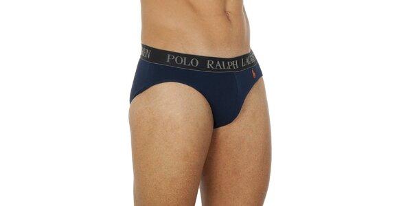 Pánské tmavě modré slipy Ralph Lauren
