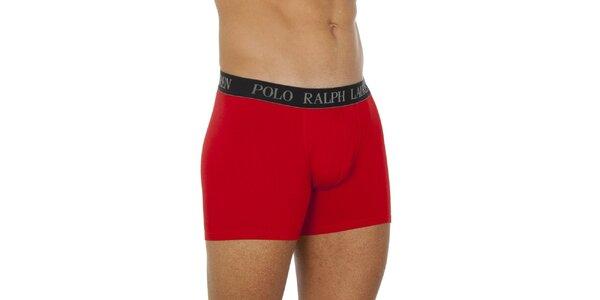 Pánské červené boxerky Ralph Lauren