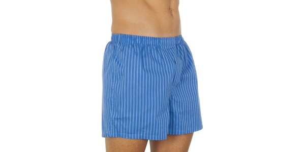 Pánské modré pruhované trenky Ralph Lauren