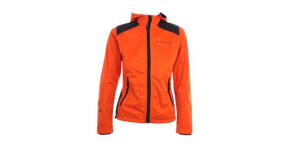 Dámská oranžová softshellová bunda Hannah