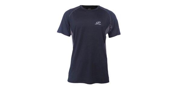 Pánské černo-šedé sportovní tričko Hannah