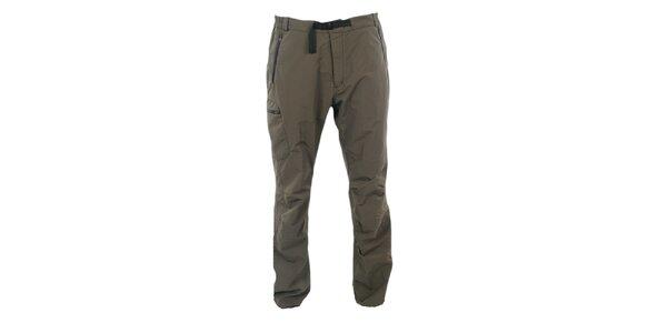 Pánské zelenohnědé kalhoty Hannah