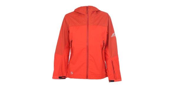 Dámská nepromokavá oranžová bunda Hannah