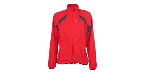 Dámská červená sportovní bunda Hannah