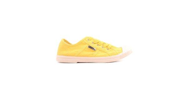 Dámské žluté tenisky Les tropeziennes