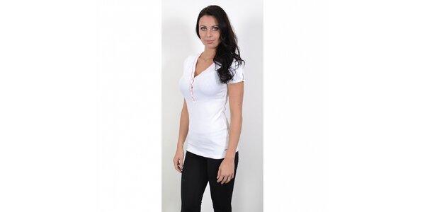 Dámské bílé tričko Tommy Hilfiger