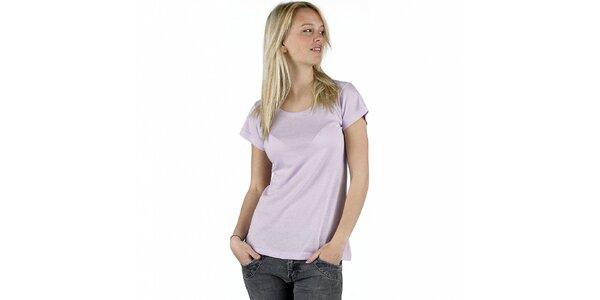 Dámské šeříkové tričko Pinko
