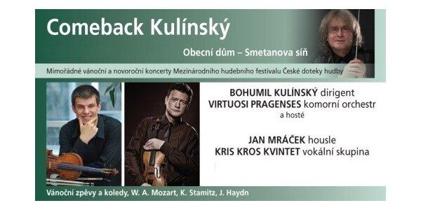 Comeback Kulínský ve Smetanově síni Obecního domu