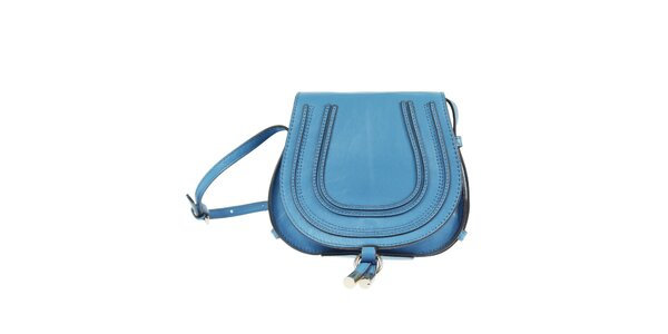 Dámská modrá kabelka přes rameno Belle & Bloom