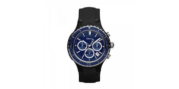 Pánské hodinky DKNY v černé barvě