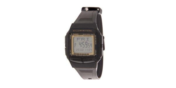 Pánské černé digitální hodinky Casio