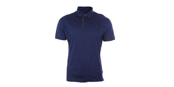 Pánské modré polo tričko Pietro Filipi