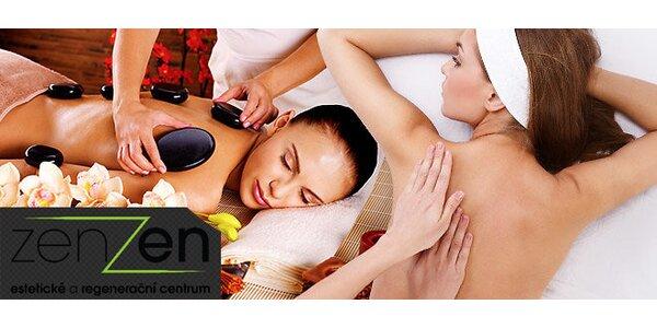 Relaxační masáž v salónu ZenZen