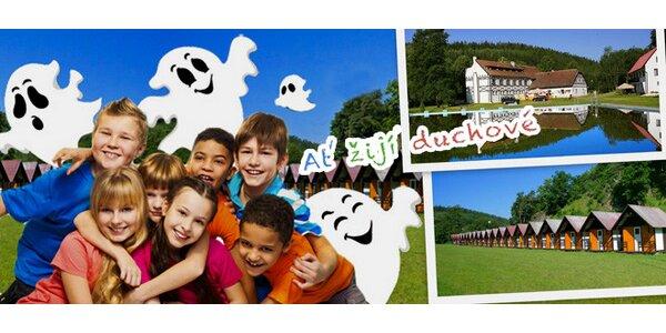 Letní tábor pro děti na téma Ať žijí duchové