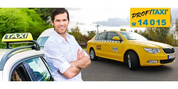 Taxi za 14,90 Kč/km na celé 2 měsíce