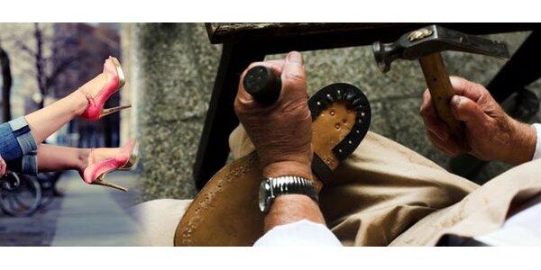 99 Kč za obuvnické služby a výrobu klíčů v hodnotě 200 Kč. SLEVA 50 %!