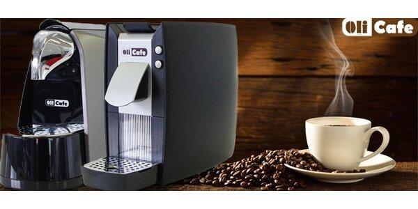 Kapslový kávovar Olicafe se startovacím balíčkem kapslí