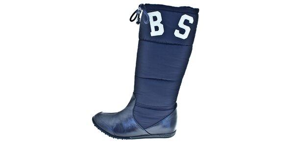 Dámské modré zimní boty Bitter Sweet