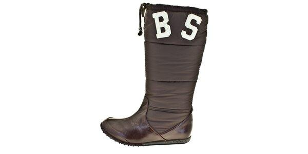 Dámské hnědé zimní boty Bitter Sweet