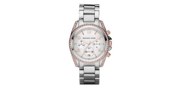 Dámské analogové hodinky s chronografem Michael Kors