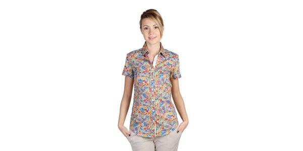 Dámská pestrobarevná květovaná košile Bonavita