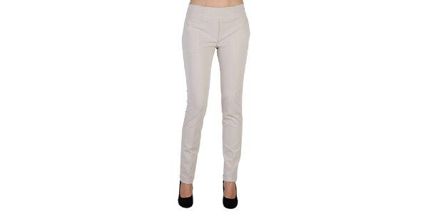 Dámské světle béžové kalhoty Bonavita