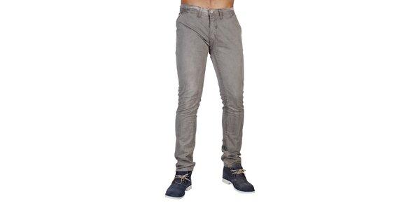 Pánské šedé džínové kalhoty Bonavita