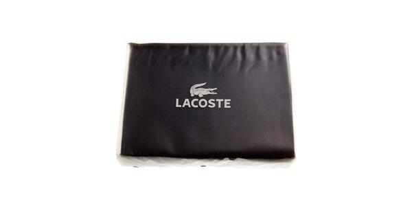 Temně modrý set ložního prádla Lacoste v provedení bavlněný satén