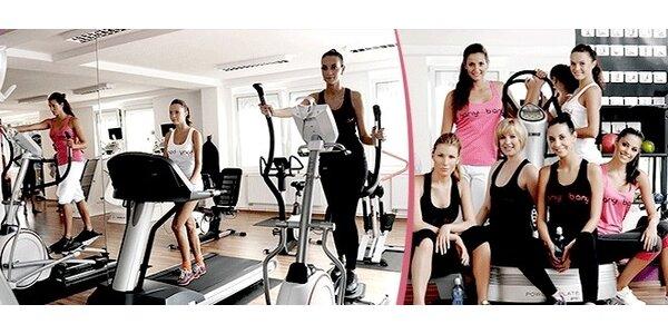 Neomezený měsíční vstup do dámského fitness Hany Bany