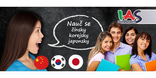 Kurz japonštiny, čínštiny či korejštiny pro začátečníky