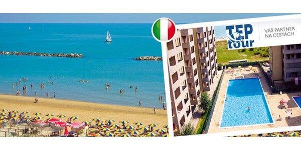 7 nocí v Itálii - apartmány u moře v Lido Adriano