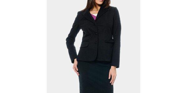 Dámské černé sako ODM Fashion
