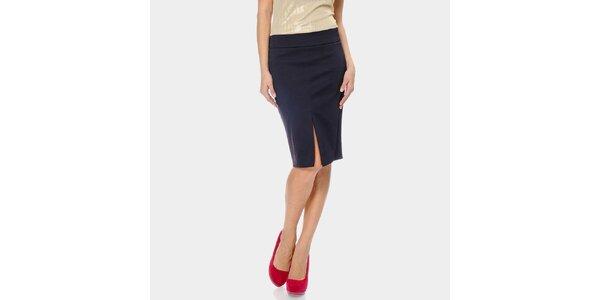 Dámská fialová pouzdrová sukně ODM Fashion