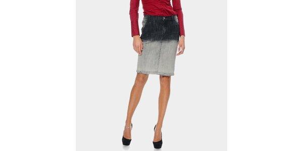 Dámská ombré džínová sukně ODM Fashion