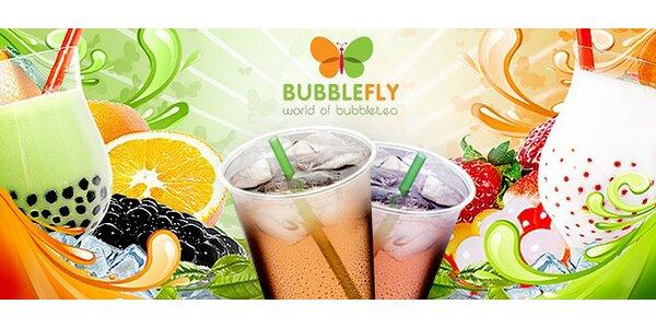 1, 2 či 10 osvěžujících nápojů bubble tea (700 ml)
